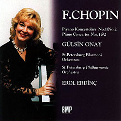 F.CHOPIN PIANO CONCERTOS NO. 1 & 2